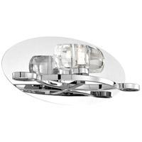 EuroFase 26350-011 Buca 1 Light 12 inch Chrome Wall Sconce Wall Light