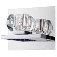 EuroFase 26356-013 Casa 1 Light 7 inch Chrome Wall Sconce Wall Light