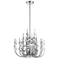 Vice 9 Light 20 inch Polished Chrome Chandelier Ceiling Light