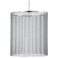 Bloomington 38 inch Chrome Pendant Ceiling Light