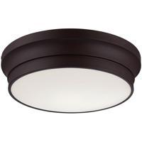 EuroFase 26634-012 Jane LED 13 inch Bronze Flush Mount Ceiling Light