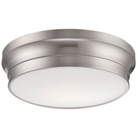 EuroFase 26634-029 Jane LED 13 inch Satin Nickel Flush Mount Ceiling Light