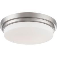 EuroFase 26635-026 Wilson LED 13 inch Satin Nickel Flush Mount Ceiling Light