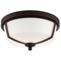 Kate LED 12 inch Bronze Flush Mount Ceiling Light