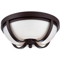 Andrew LED 13 inch Bronze Flush Mount Ceiling Light