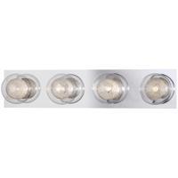EuroFase 27202-012 Cambria 4 Light 23 inch Chrome Vanity Light Wall Light