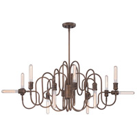 EuroFase 27998-014 Briggs 12 Light 26 inch Oil Rubbed Bronze Chandelier Ceiling Light