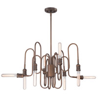 EuroFase 27999-011 Briggs 8 Light 26 inch Oil Rubbed Bronze Chandelier Ceiling Light
