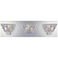 EuroFase 28031-017 Zilli 3 Light 18 inch Chrome Vanity Light Wall Light