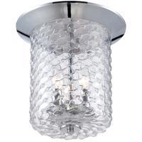 EuroFase 28044-017 Elli 3 Light 11 inch Chrome Flush Mount Ceiling Light