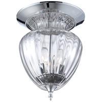 EuroFase 28045-014 Weston 3 Light 11 inch Chrome Flush Mount Ceiling Light