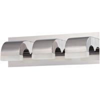 EuroFase 28097-013 Newport LED 18 inch Chrome Vanity Light Wall Light