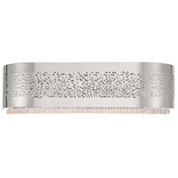 Cara 4 Light 20 inch Nickel Bath Bar Wall Light