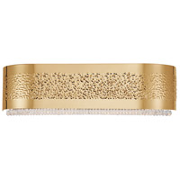 Cara 4 Light 20 inch Gold Bath Bar Wall Light
