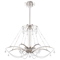 Gambari 8 Light 39 inch Nickel Chandelier Ceiling Light