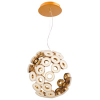 EuroFase 28182-030 Glendale LED 20 inch Gold Chandelier Ceiling Light