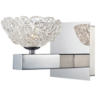 EuroFase 28199-014 Caramico 1 Light 6 inch Chrome Wall Sconce Wall Light