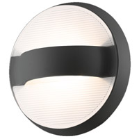 EuroFase 28274-025 Bay LED 7 inch Graphite Grey Outdoor Wall Sconce