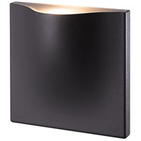 EuroFase 28277-026 Haven LED 8 inch Graphite Grey Outdoor Wall Sconce