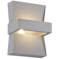 EuroFase 28279-013 Mill LED 7 inch Marine Grey Outdoor Wall Sconce