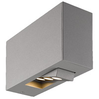 EuroFase 28280-019 Oscar LED 5 inch Marine Grey Outdoor Wall Sconce