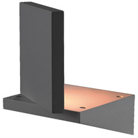 EuroFase 28283-027 Mana LED 7 inch Graphite Grey Outdoor Wall Sconce