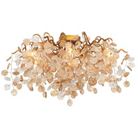 EuroFase 29057-016 Campobasso 7 Light 27 inch Gold Flush Mount Ceiling Light
