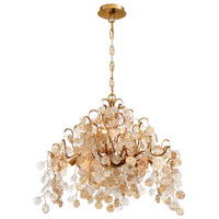 EuroFase 29060-016 Campobasso 11 Light 33 inch Gold Chandelier Ceiling Light