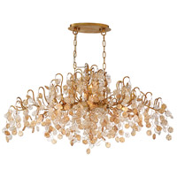 EuroFase 29061-013 Campobasso 10 Light 22 inch Gold Chandelier Ceiling Light