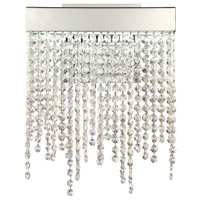 Rossi LED 10 inch Chrome Wall Sconce Wall Light