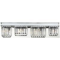 EuroFase 29077-014 Lumino 4 Light 28 inch Polished Chrome Bath Bar Wall Light
