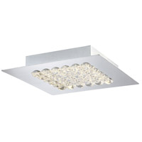 EuroFase 29101-016 Denso LED 10 inch Chrome Flush Mount Ceiling Light Medium