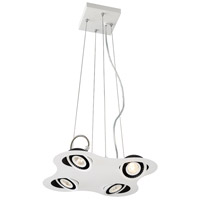 Vision LED 14 inch White Pendant Ceiling Light