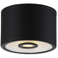 EuroFase 29491-018 Vision LED 5 inch Black Flush Mount Ceiling Light