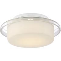 EuroFase 29815-012 Logen LED 8 inch White Flush Mount Ceiling Light