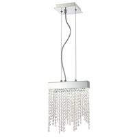 Rossi LED 2 inch Chrome Pendant Ceiling Light
