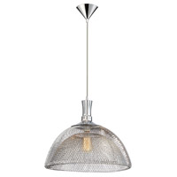 Filo 1 Light 18 inch Chrome Pendant Ceiling Light