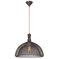 Filo 1 Light 18 inch Bronze Pendant Ceiling Light