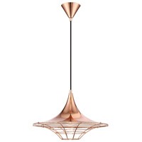 Windsor 1 Light 18 inch Copper Pendant Ceiling Light