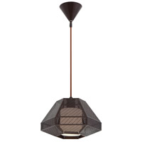 EuroFase Bronze Glass Pendants