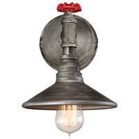 Zinco 1 Light 8 inch Aged Silver Wall Sconce Wall Light