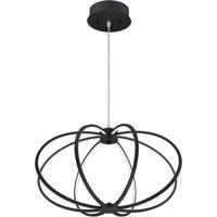 EuroFase 30035-034 Leggero LED 23 inch Black Pendant Ceiling Light