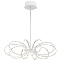 EuroFase 30039-025 Tela LED 25 inch White Pendant Ceiling Light