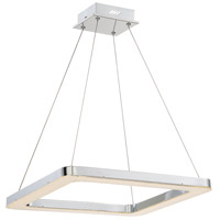 EuroFase 30061-019 Zatina LED 20 inch Chrome Pendant Ceiling Light