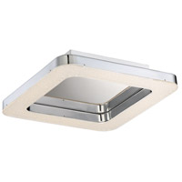 EuroFase 30064-010 Zatina LED 18 inch Chrome Flush Mount Ceiling Light