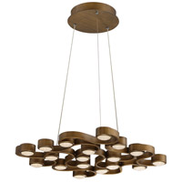 EuroFase 30067-011 Pallazo LED 24 inch Bronze Chandelier Ceiling Light