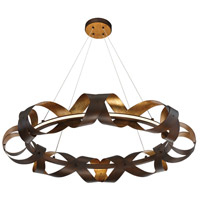 EuroFase 30080-010 Banderia LED 33 inch Bronze Chandelier Ceiling Light