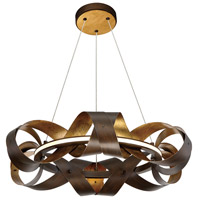 EuroFase 30081-017 Banderia LED 23 inch Bronze Chandelier Ceiling Light