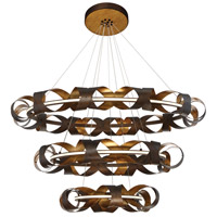 EuroFase 30082-014 Banderia LED 44 inch Bronze Chandelier Ceiling Light