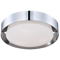 EuroFase 30105-010 Saturn LED 16 inch Chrome Flush Mount Ceiling Light